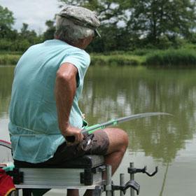 Pêcheur au coup