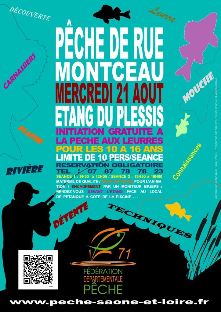 affiche animation gratuite Montceau