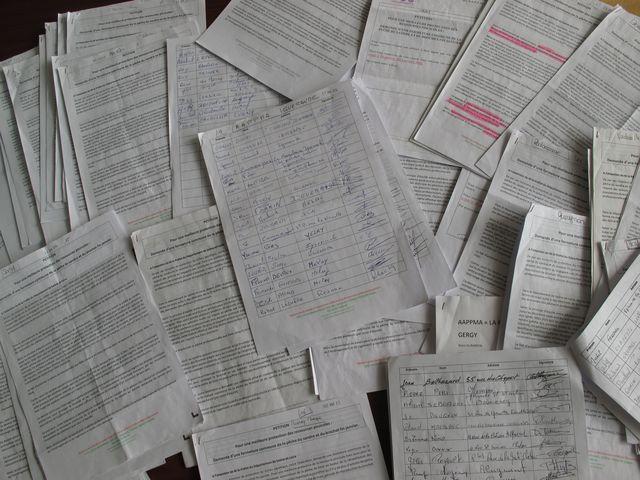 Échantillons de quelques signatures papiers