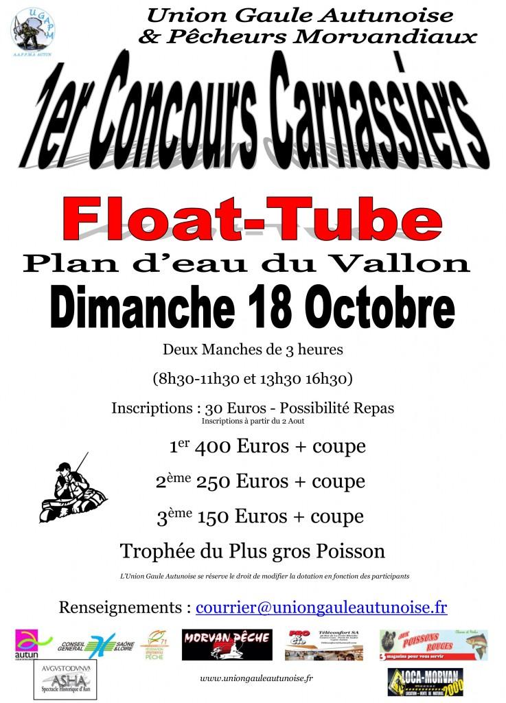 Affiche concours Float-Tube 2015 buss