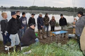 Animation pêche au lac de la Sorme