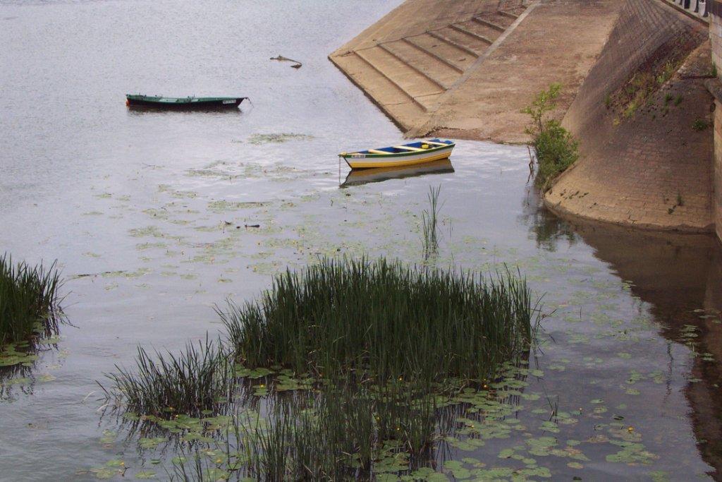 Barques à Saint-Laurent-sur-Saône
