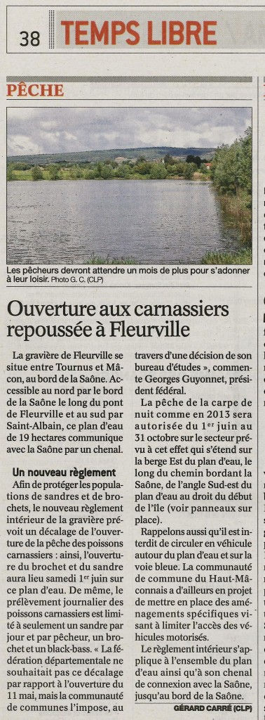 Article Fleurville 2013