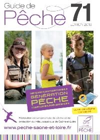 Guide 2018 de la pêche en Saône-et-Loire