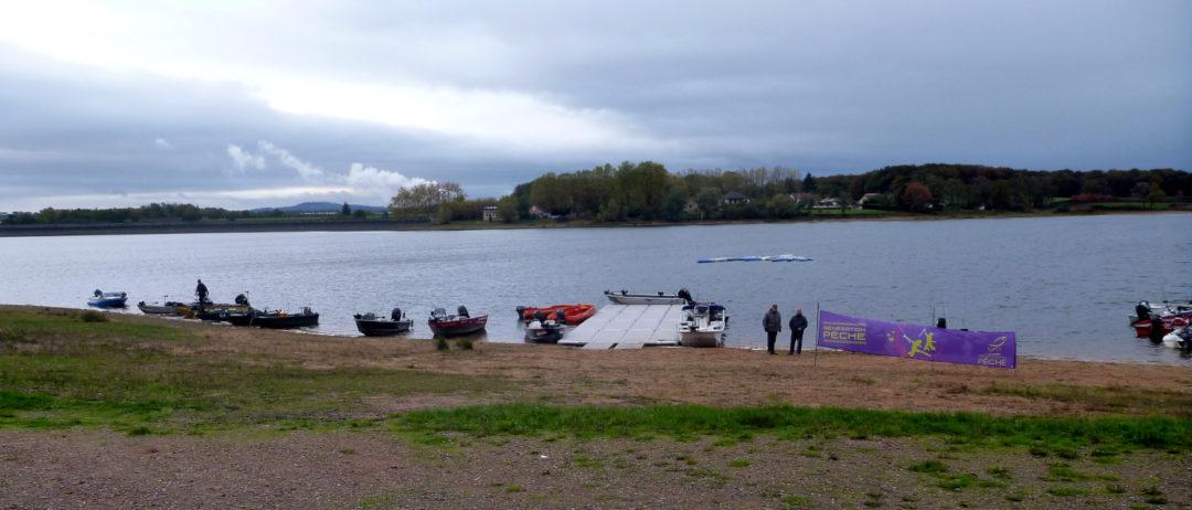 Challenge départemental des pêches des poissons carnassiers en bateau de Saône-et-Loire - Lac de Torcy